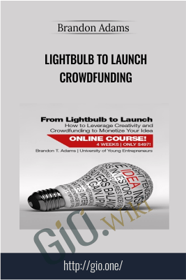 Lightbulb To Launch Crowdfunding – Brandon Adams