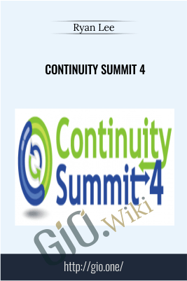 Continuity Summit 4 by Ryan Lee