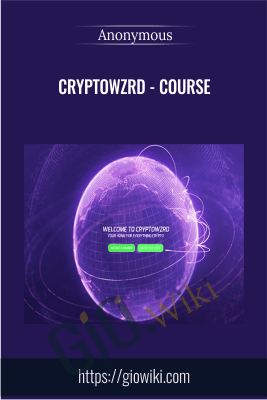 CryptoWZRD - Course - Anonymous