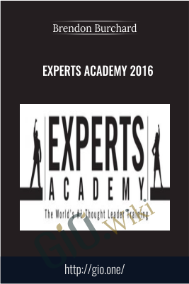 Experts Academy 2016 – Brendon Burchard