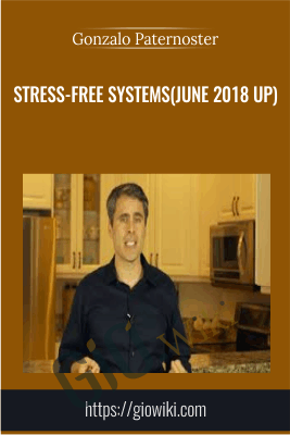 Stress-Free Systems(June 2018 UP) - Gonzalo Paternoster