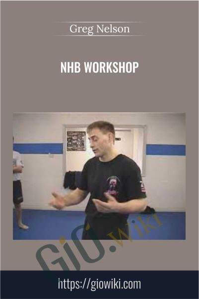 NHB Workshop - Greg Nelson