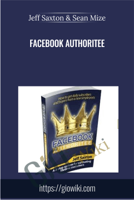 Facebook Authoritee - Jeff Saxton & Sean Mize