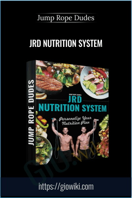 JRD Nutrition System - Jump Rope Dudes