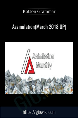 Assimilation(March 2018 UP) - Kotton Grammer