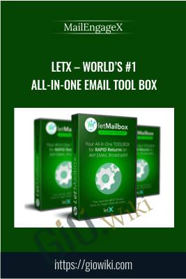 LetX – World's #1 All-In-One Email Tool Box – MailEngageX