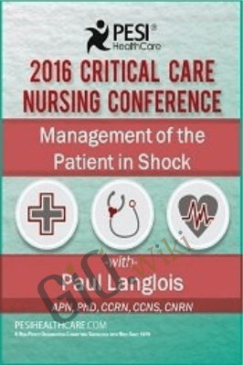 Management of the Patient in Shock - Dr. Paul Langlois