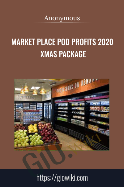 Market Place POD Profits 2020 Xmas Package