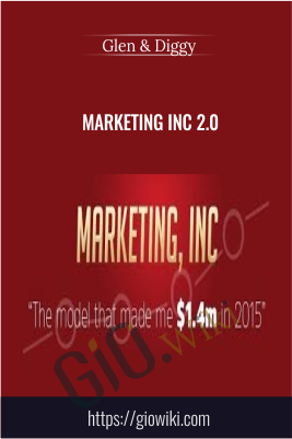 Marketing Inc 2.0 - Glen & Diggy