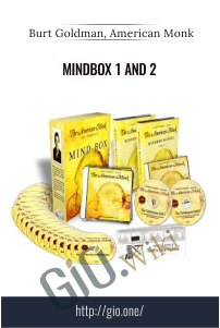 Mindbox 1 and 2 – Burt Goldman, American Monk