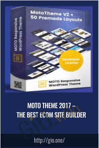 Moto Theme 2017 – The Best Ecom Site Builder