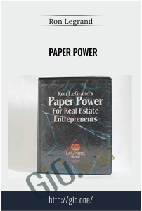 Paper Power – Ron Legrand