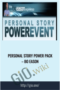 Personal Story Power Pack – Bo Eason