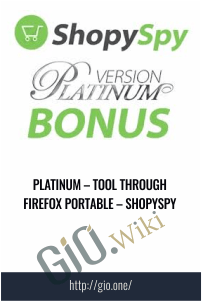 Platinum – Tool Through Firefox Portable – ShopySpy