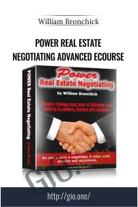 Power Real Estate Negotiating Advanced eCourse – William Bronchick