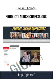 Product Launch Confessions - Mike Thomas
