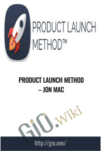 Product Launch Method – Jon Mac