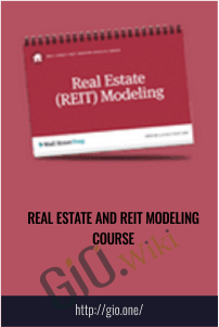 Real Estate and REIT Modeling Course