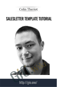 Salesletter Template Tutorial – Colin Theriot