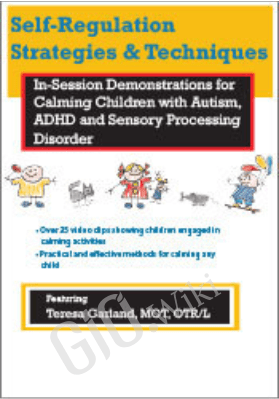 Self-Regulation Strategies & Techniques: In-Session Demonstrations for Calming Children with Autism, ADHD & Sensory Processing Disorder - Teresa Garland