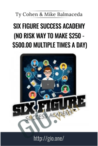 Six Figure Success Academy  Course Creation Details