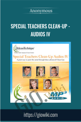 Special Teachers Clean-Up - Audios Iv - Anonymous