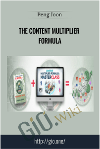 The Content Multiplier Formula - Peng Joon