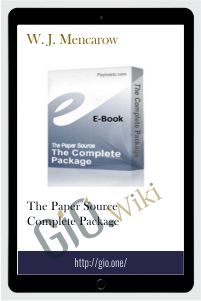 The Paper Source Complete Package – W. J. Mencarow