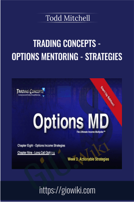 Trading Concepts - Options Mentoring - Strategies - Todd Mitchell