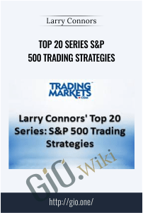 Top 20 Series S&P 500 Trading Strategies - Larry Connors