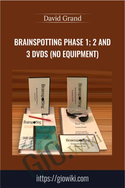 Brainspotting Phase 1; 2 and 3 DVDs (No Equipment) - David Grand