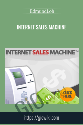 Internet Sales Machine - EdmundLoh