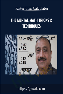 Faster than Calculator - The Mental Math Tricks & Techniques - Rajinder Goswami