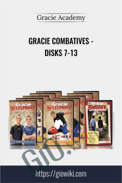 Gracie Combatives - Disks 7-13