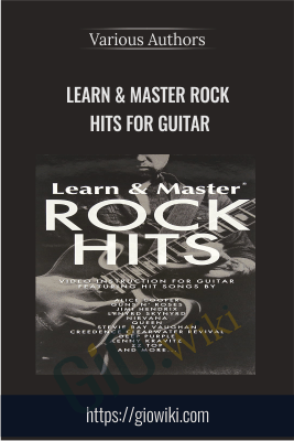 Learn & Master Rock Hits for Guitar - Various Authors