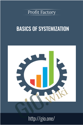 Basics of Systemization - Profit Factory