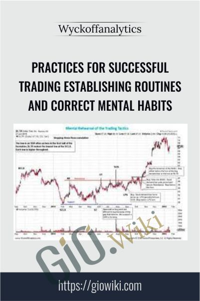 Practices for Successful Trading Establishing Routines and Correct Mental Habits – Wyckoffanalytics