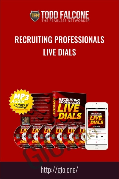 Recruiting Professionals Live Dials - Todd Falcone