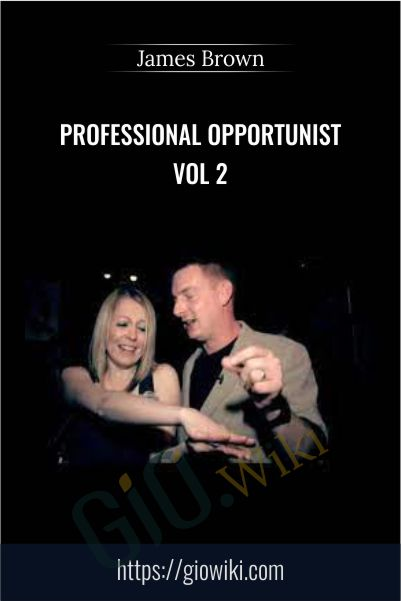 Professional Opportunist Vol 2 - James Brown