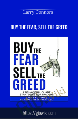 Buy the Fear, Sell the Greed - 3 DVDs - Larry Connors