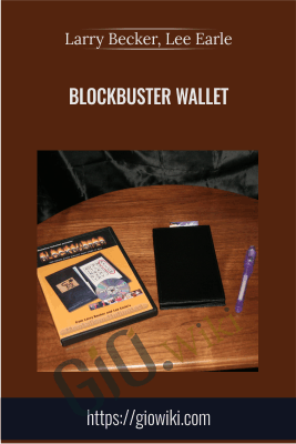 Blockbuster Wallet - Larry Becker, Lee Earle