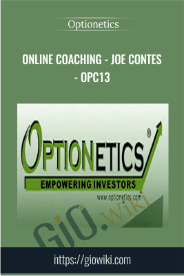 Online Coaching - Joe Contes - OPC13 - Optionetics