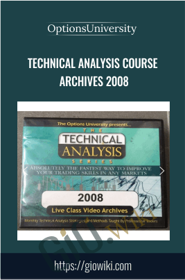 Technical Analysis Course Archives 2008 - Options University