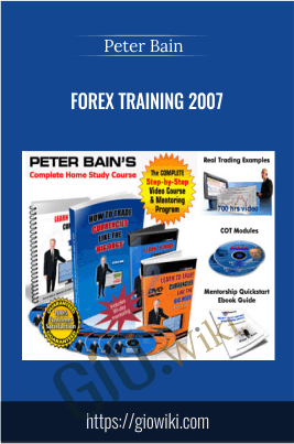 Forex Training 2007 - Peter Bain