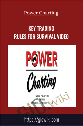 Key Trading Rules For Survival Video - Power Charting