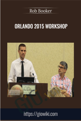 Orlando 2015 Workshop - Rob Booker