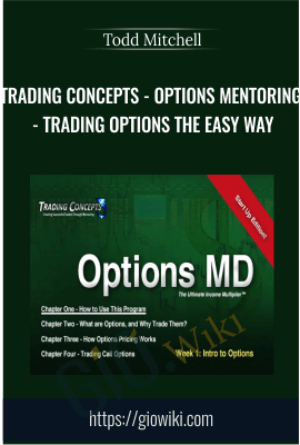 Trading Concepts - Options Mentoring - Trading Options the Easy Way - Todd Mitchell