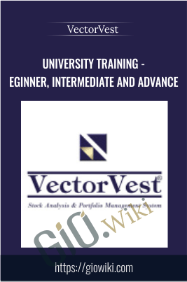 University Training - Beginner, Intermediate and Advance - VectorVest