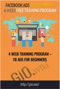 4 Week Training Program – Fb Ads For Beginners