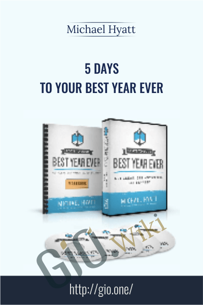 5 Days to Your Best Year Ever